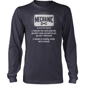 Mechanic Meaning