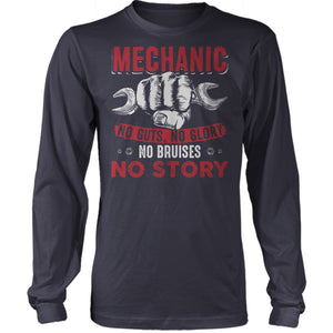 Mechanics No Guts No Glory