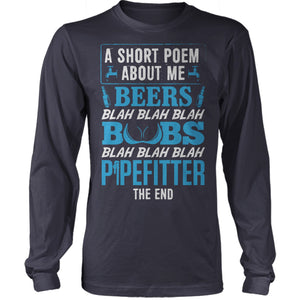 Pipefitter Poem