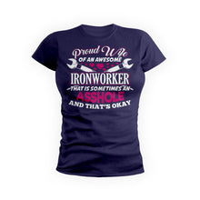 Proud Wife Awesome Ironworker
