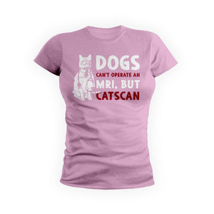Dogs Can't But Catscan