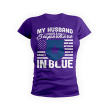 Husband Superhero In Blue