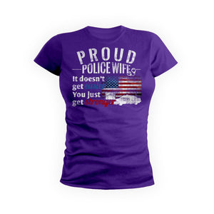 Proud Police Wife