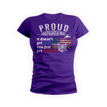 Proud Firefighters Wife
