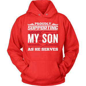 Navy Supporting Son