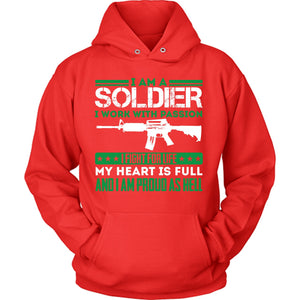 Soldier Proud As Hell
