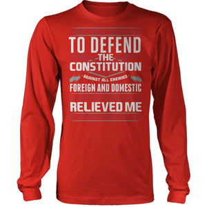 To Defend The Constitution