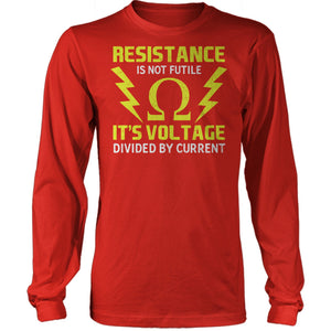 Resistance Is Voltage Over Current