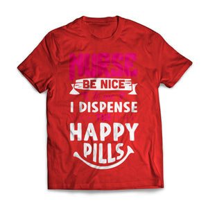 Nurses Dispense Happy Pills