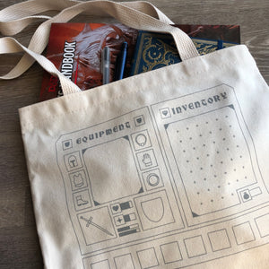 Inventory Tote Bag (recycled canvas)