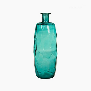 Handmade Vase made from recycled glass