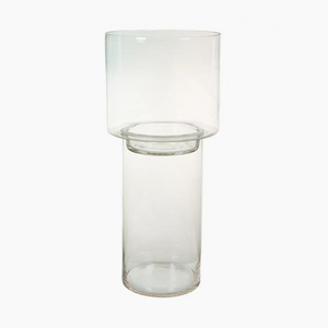 Pure Crystal Deco style candle holder 25 x 25 x 56 cm