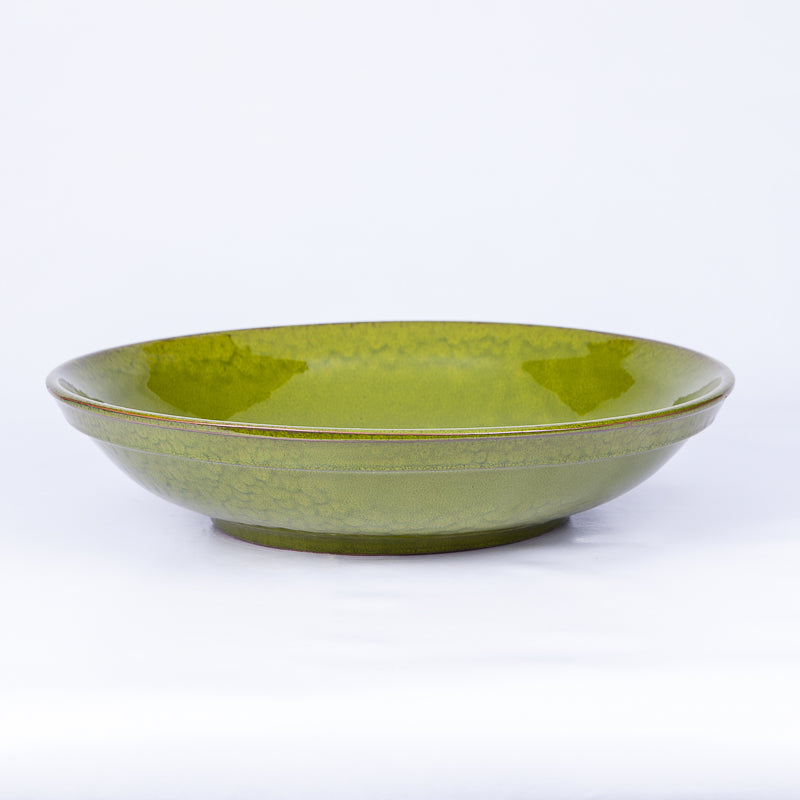 Large 38cm Serving Bowl Colours in Green