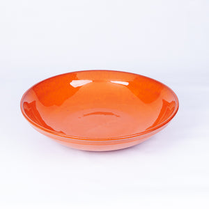 Large Fruit/Serving Bowl - Orange