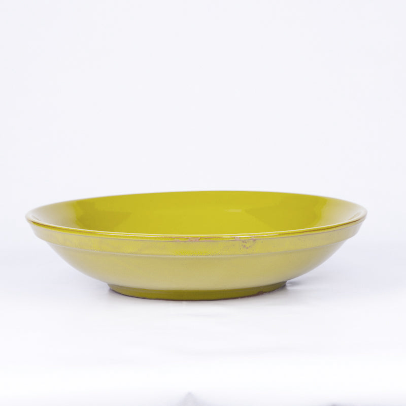 Large Fruit/Serving Bowl 38cm - Pistachio Terracotta