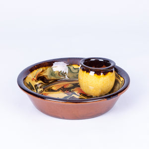 Olive Dish - Waters in Yellow