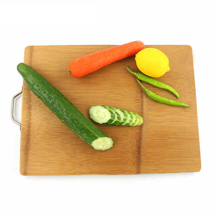 Extra Large Chopping Board in Bamboo