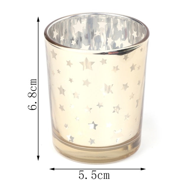 Modern and stylish Glass Tealight Candle Holders