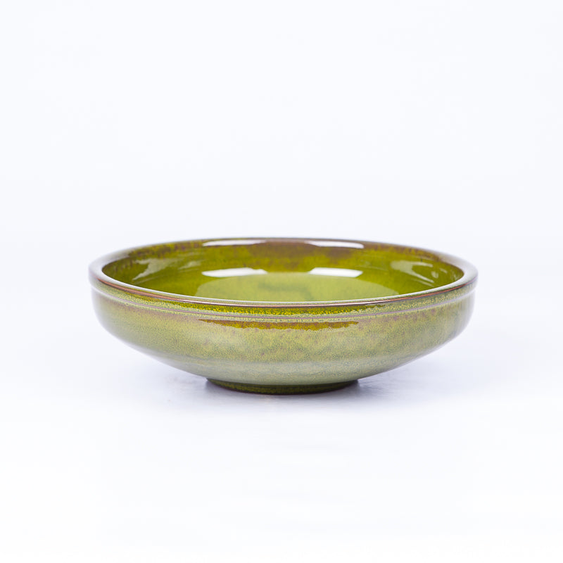 Medium Pasta Bowl 20cm - Green Terracotta