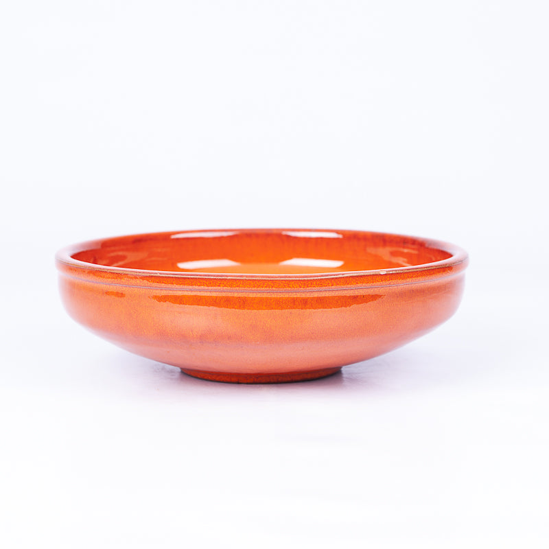 Medium Pasta Bowl 20cm - Orange Terracotta
