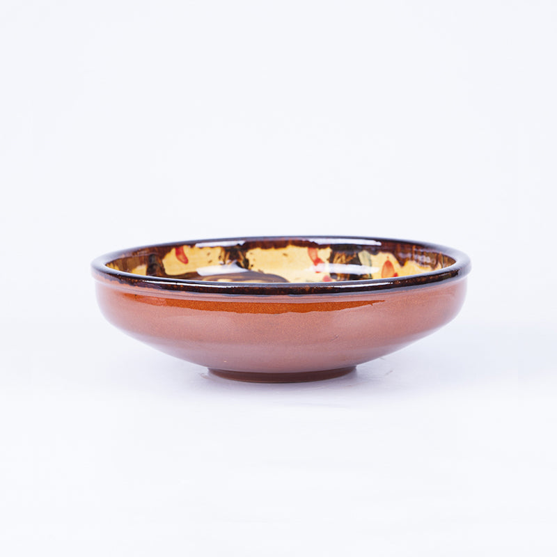 Medium Pasta Bowl 20cm - Waters in Yellow