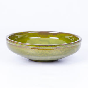 Large Salad/Pasta/Serving Bowl 25cm - Green Terracotta