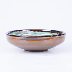 Large Salad/Pasta/Serving Bowl 25cm - Waters Green