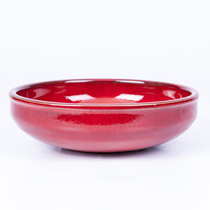 Large Salad/Pasta/Serving Bowl 25cm - Red Terracotta