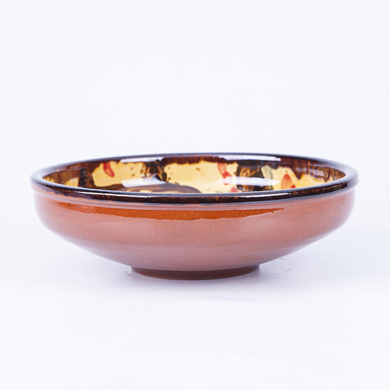 Large Salad/Pasta/Serving Bowl 25cm - Waters in Yellow