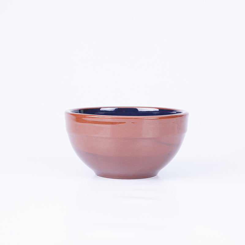 Small Tapas/Breakfast Bowl 13cm - Spiral Blue