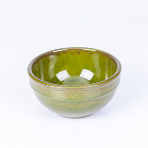 Small Tapas/Breakfast Bowl 13cm - Green Terracotta