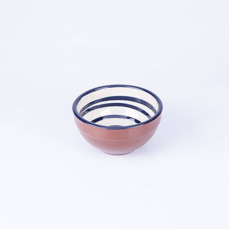 Small Tapas/Breakfast bowl 13cm - Spiral White