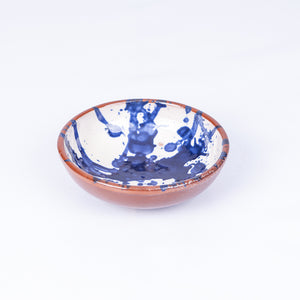Tapas bowl 12cm - Blue Splatter