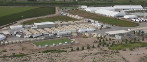 Border Patrol: An Inside Look at New Tent Facility in Texas
