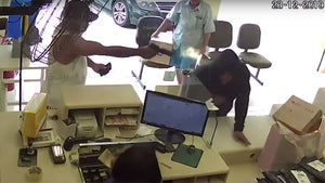 (WATCH) Concealed Carrier Saves Lives, Ends Robbery with Head Shots In Brazil [GRAPHIC]