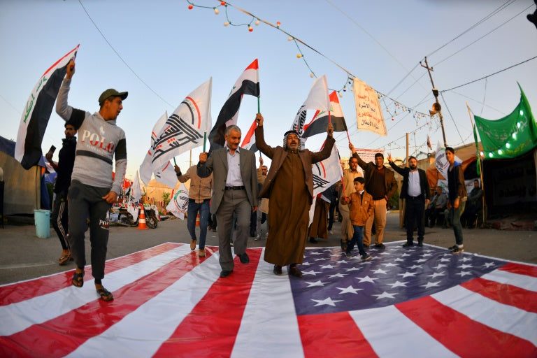 WATCH: Iraqis Storm US Embassy compound in Baghdad, Chanting 'Death to America' (Benghazi Flashbacks)
