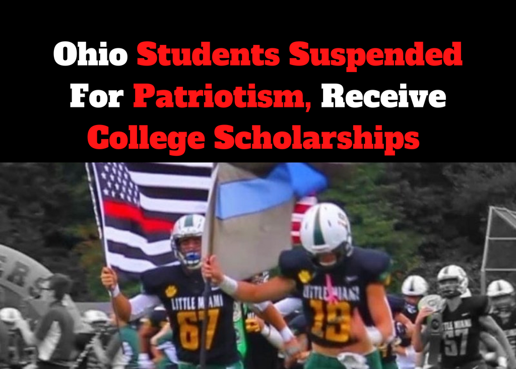 Ohio Students Suspended For Patriotism, Receive College Scholarships