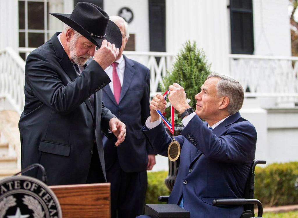(WATCH) Texas Awards Church Shooting Hero with Medal of Courage