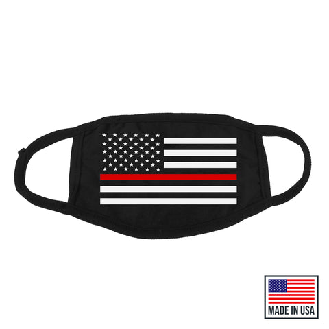 Thin Red Line Mask - MADE IN USA