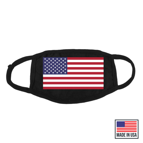 American Flag Mask - MADE IN USA