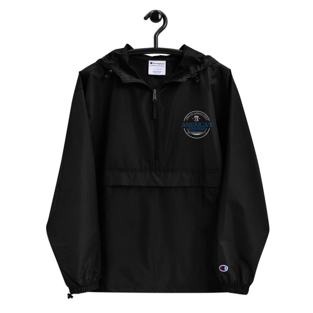 Thin Blue Line America's Keepers Logo Embroidered Jacket