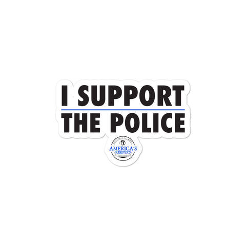 I Support The Police stickers