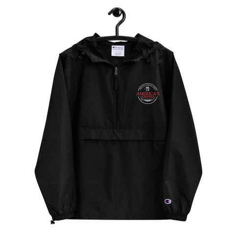 Thin Red Line America's Keepers Logo Embroidered Packable Jacket