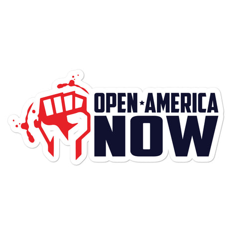 Open America Now Stickers