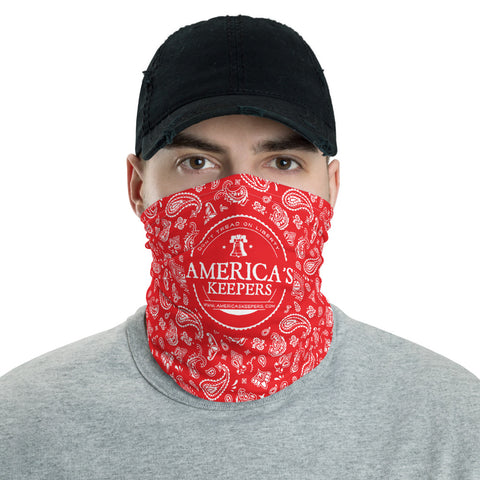AK Logo Red Bandana Neck Gaiter