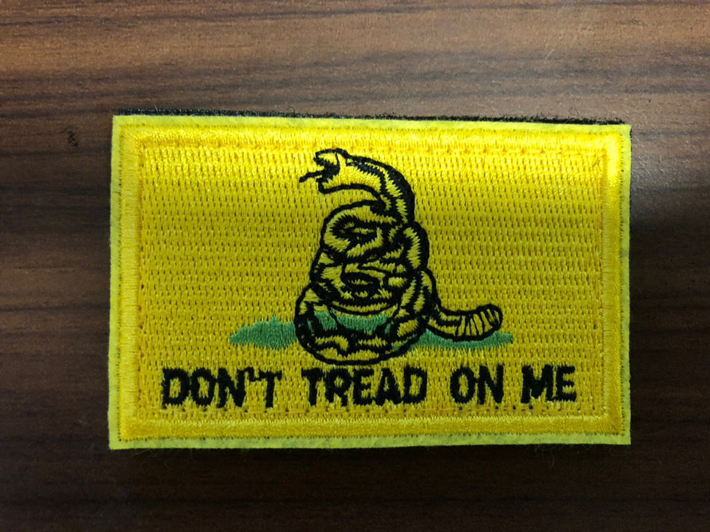Don't Tread On Me Gadsden Patches