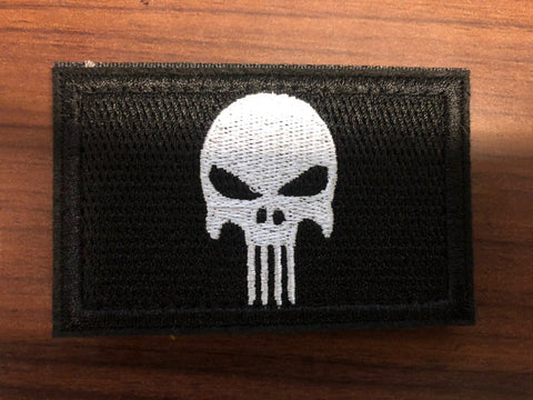 Punisher Skull Patches