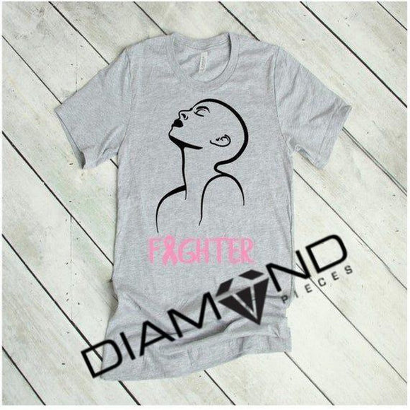 Fighter Breast Cancer Awareness Shirt