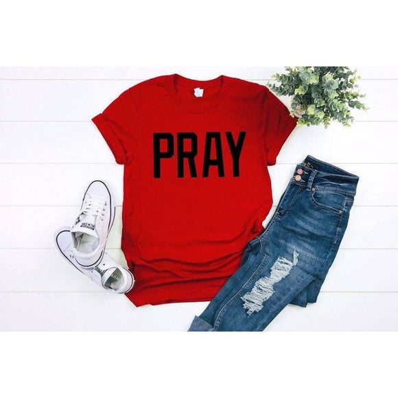 Pray Graphic T-Shirt