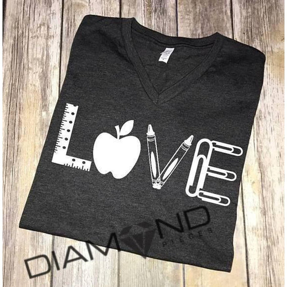 Love - Teacher edition Graphic T-Shirt